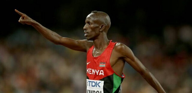 Kemboi against Russia ban from 2016 Rio Olympics