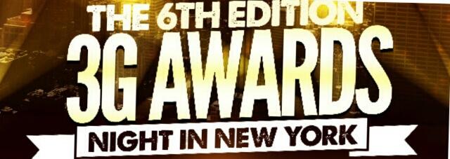 6th Annual 3G Media Awards Gala for November in New York