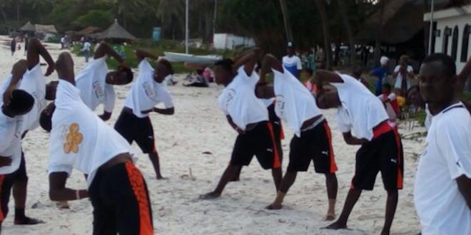 Beach Soccer: Ghana Black Sharks Prepares For Kenya