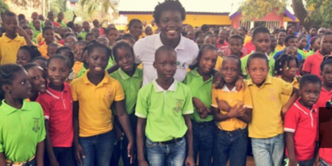 Samantha Boateng Of William & Mary Builds Library In Ghana