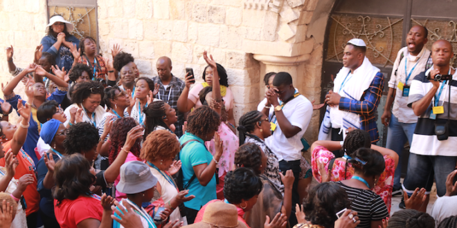 Bishop Kofi Adonteng Boateng Goes On Holy Land Tour