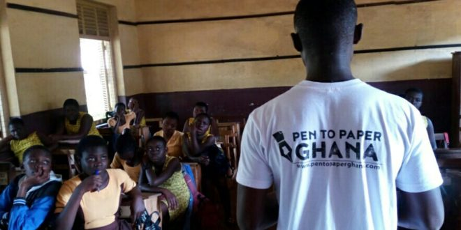 Pen To Paper Ghana Increasing Literacy Power Of Children
